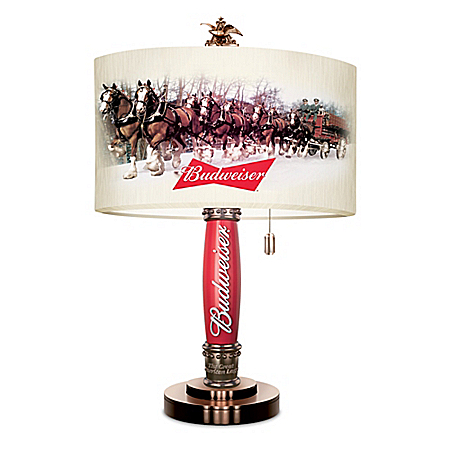 Budweiser Tap Clydesdale Lamp