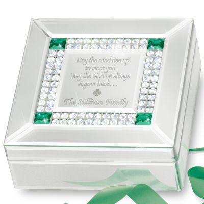 Bradford Exchange Irish Blessing Personalized Mirrored