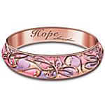 Lena Liu Garden Of Hope Women's Bangle Bracelet
