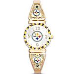 Watch - My Pittsburgh Steelers Ultimate Fan Women's Watch