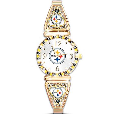 My Steelers Ultimate Fan Women's Wristwatch
