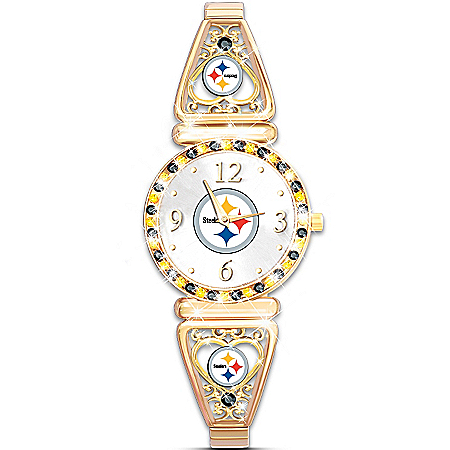 My NFL Pittsburgh Steelers Ultimate Fan Women's Watch