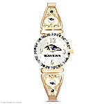 Watch - My Baltimore Ravens Ultimate Fan Women's Watch