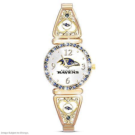 My Baltimore Ravens Ultimate Fan Women's Watch