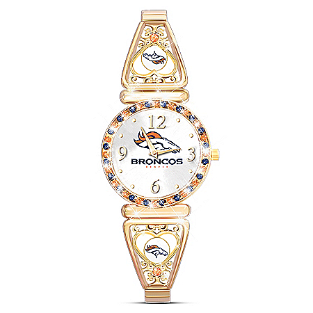 My NFL Denver Broncos Ultimate Fan Women's Watch