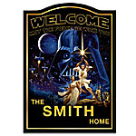 Welcome Sign - Star Wars Personalized Welcome Sign