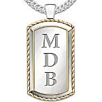 Necklace - Graduation Personalized Men's Pendant Necklace