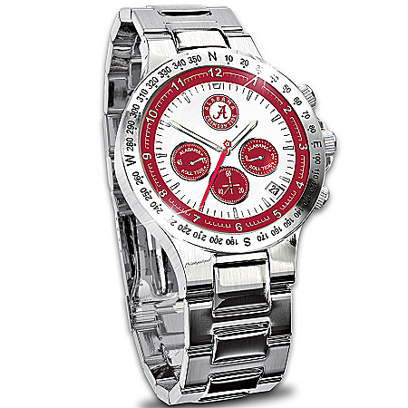 Watch: Alabama Crimson Tide Men's Collector's Watch