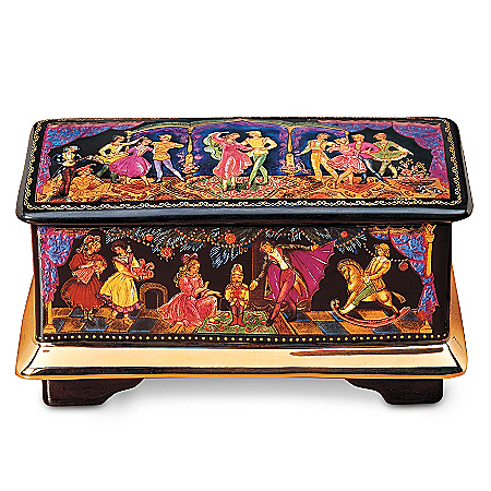 Music Box: The Nutcracker Russian Ballet Music Box