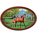 Plate: Proud Heritage Personalized Horse Collector Plate