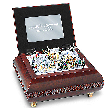 Thomas Kinkade Holiday Memories Music Box