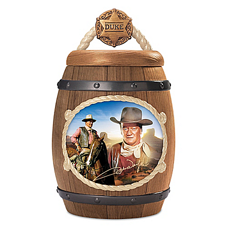 John Wayne: One Tough Cookie Sculptural Cookie Jar