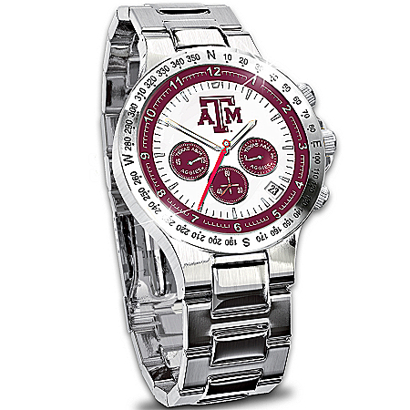 Watch: Texas A & M Aggies Men's Collector's Watch