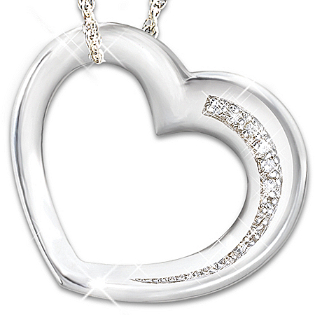 My Granddaughter, Have I Told You Lately Diamond Pendant Necklace