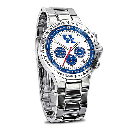 Watch: Kentucky Wildcats Men's Collector's Watch
