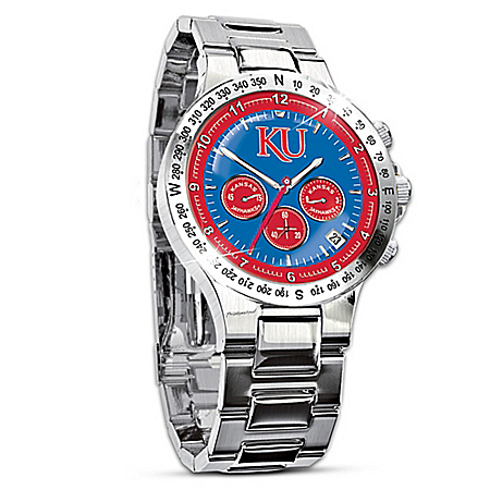 Watch: Kansas Jayhawks Men's Collector's Watch