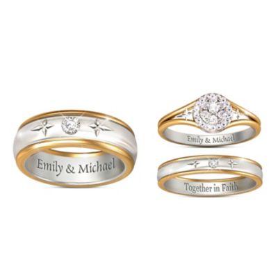 Christian Engagement Rings Christian Wedding Rings