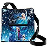 Disney Frozen Let It Go Quilted Cross Body Handbag