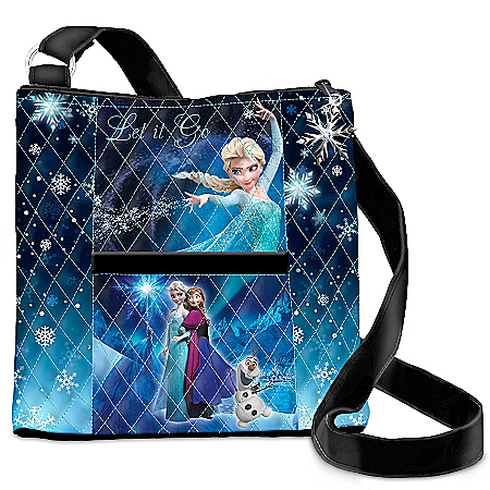 Disney Frozen Let It Go Quilted Cross Body Handbag