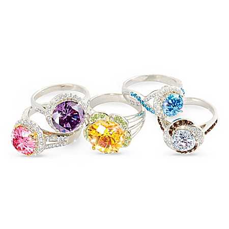 Cocktail Hour Diamonesk Women's Sterling Silver Ring Collection