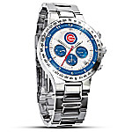 MLB Chicago Cubs Men's Collector's Chronograph Watch