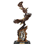 Ted Blaylock Soaring Spirits Bald Eagle Sculpture