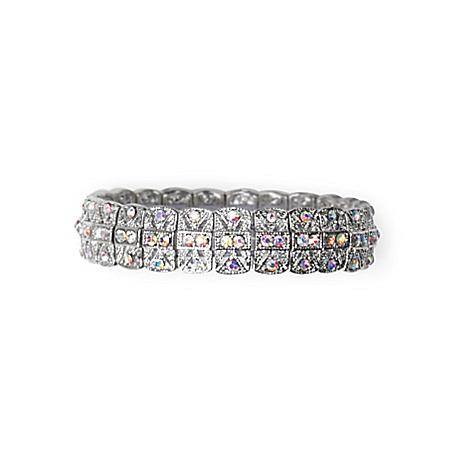 Facets Of You Sophia's Garden Floral Stretch Bracelet