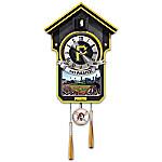 Moments Of Greatness - Pittsburgh Pirates Baseball Cuckoo Clock