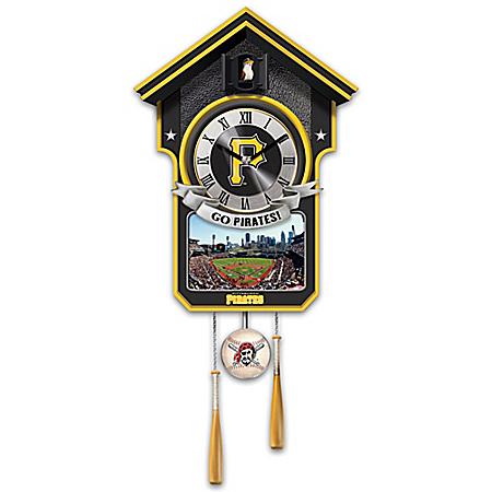 Moments Of Greatness: Pittsburgh Pirates Baseball Cuckoo Clock