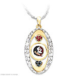 For The Love Of The Game Florida State Seminoles Pendant Necklace