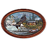 Majestic Retreat Personalized Collector Plate With Your Family Name