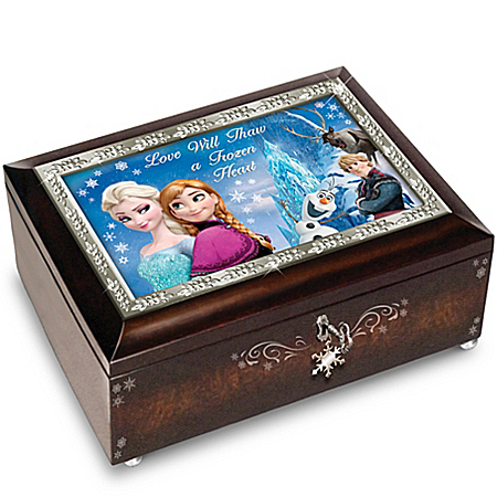 Disney FROZEN Heirloom Music Box: Plays Let It Go