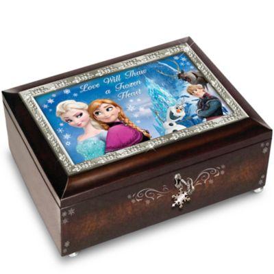 Bradford Exchange Disney FROZEN Heirloom Plays Let It Go