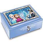 Disney FROZEN Blue Music Box: Plays Let It Go