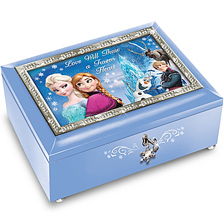 Disney FROZEN Blue Music Box: Plays Let It Go 121250001
