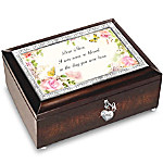 Niece, You're a Blessing Heirloom Music Box With Personalized Heart-Shaped Charm
