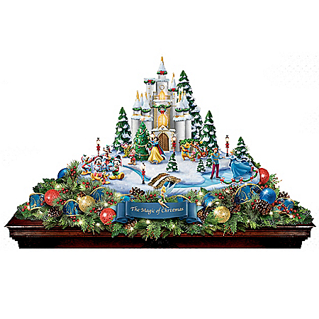 Disney Magic Of Christmas Illuminated Table Centerpiece