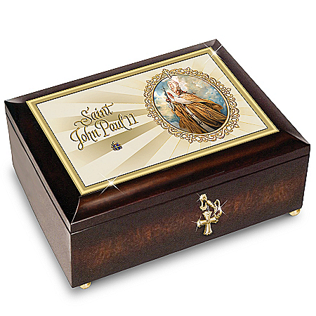 Saint Pope John Paul II Historic Limited-Edition Commemorative Music Box