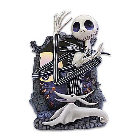Jack Skellington Glow Portrait Wall Decor