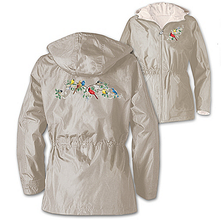 Nature's Symphony Women's Songbird Anorak Jacket