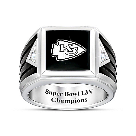 Kansas City Chiefs Super Bowl LIV Men's Diamond Ring