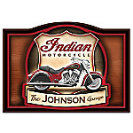 2015 Indian Motorcycle Personalized Welcome Sign