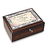 My Granddaughter, You're A Blessing Personalized Music Box