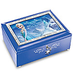 Granddaughter, Your Love Melts My Heart Personalized FROZEN Music Box