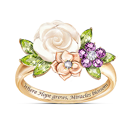 Miracle Blossoms Women's Flower Ring