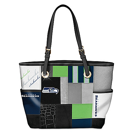 For The Love Of The Game NFL Seattle Seahawks Women's Tote Bag