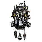 The Munsters Hand-Painted Cuckoo Clock