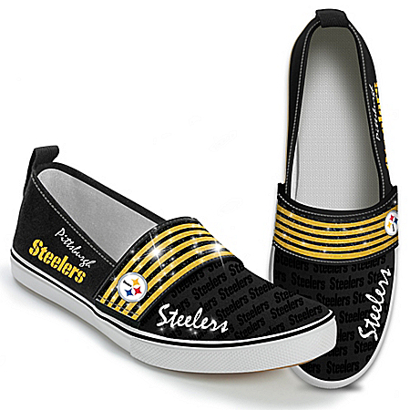 Steppin' Out With Pride NFL Pittsburgh Steelers Women's Shoes