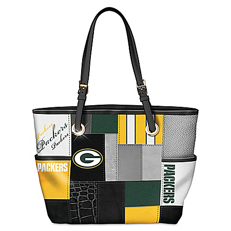 For The Love Of The Game NFL Green Bay Packers Tote Bag