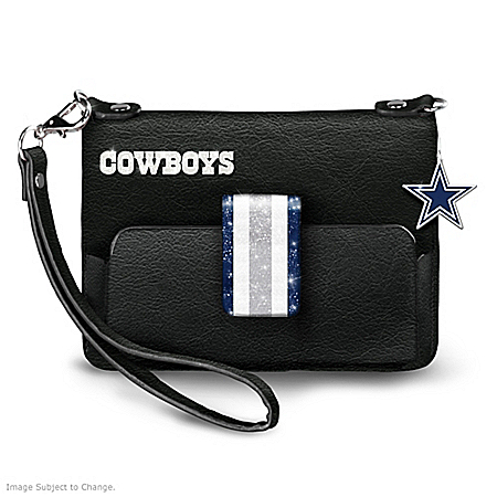 NFL-Licensed Dallas Cowboys D-Town Chic Mini Handbag